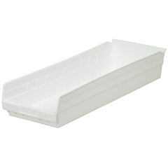 AKR30184WHITECS - Akro-Mils24 inch Nesting Shelf Bin Box