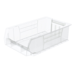 AKR30280SCLARCS - Akro-Mils20 inch Clear Super Size AkroBins®