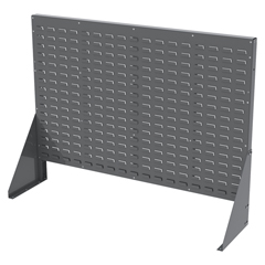 AKR30607GY - Akro-MilsDouble-Sided Low Profile Louvered Floor Rack