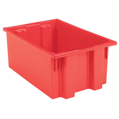 AKR35200REDCS - Akro-Mils19.5 inch Nest & Stack Totes