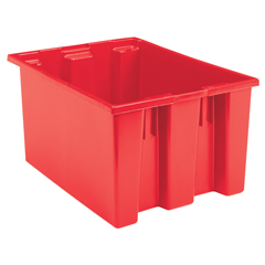 AKR35230REDCS - Akro-Mils23.5 inch Nest & Stack Totes