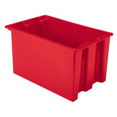 AKR35240REDCS - Akro-Mils23.5 inch Nest & Stack Totes