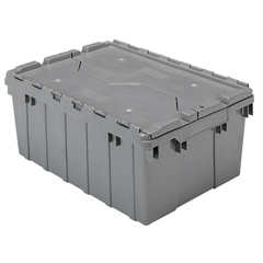 AKR39085GREYCS - Akro-MilsAttached Lid Containers