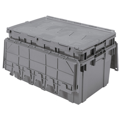 AKR39160GREYCS - Akro-MilsAttached Lid Container