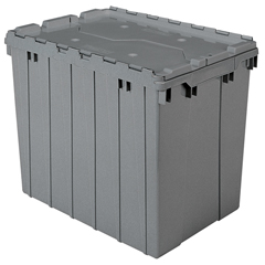 AKR39170GREYCS - Akro-MilsAttached Lid Containers