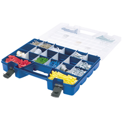 AKR6318CS - Akro-MilsPlastic Portable Hardware and Craft Parts Organizer