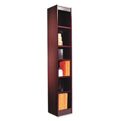 ALEBCS67212MY - Alera® Narrow Profile Bookcase With Finished Back