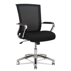 ALEENR4218 - Alera® ENR Series Mid-Back Slim Profile Mesh Chair