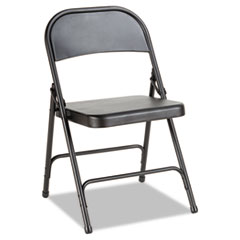 ALEFC94B - Alera® Steel Folding Chair with Two-Brace Support