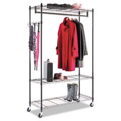 ALEGR354818BL - Alera® Wire Shelving Garment Rack