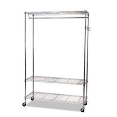 ALEGR354818SR - Alera® Wire Shelving Garment Rack