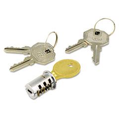 ALEKC501111 - Alera® Lock Core for Metal Mobile Pedestals