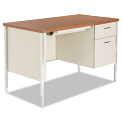 ALESD4524PC - Alera® Single Pedestal Steel Desk