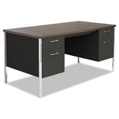 ALESD6030BW - Alera® Double Pedestal Steel Desk
