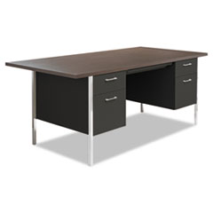 ALESD7236BW - Alera® Double Pedestal Steel Desk