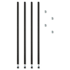 ALESW59PO36BL - Alera® Wire Shelving Stackable Posts