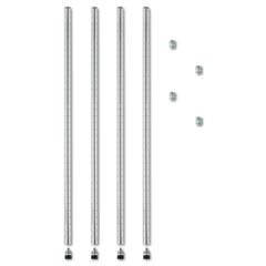 ALESW59PO36SR - Alera® Wire Shelving Stackable Posts