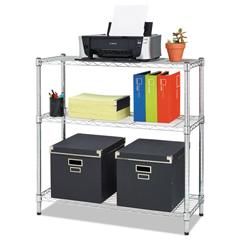 ALESW833614SR - Alera® Light-Duty Residential Wire Shelving Kit