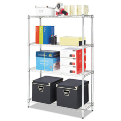 ALESW843614SR - Alera® Light-Duty Residential Wire Shelving Kit