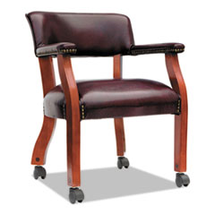 ALETDC4336 - Alera® Traditional Series Guest Arm Chair with Casters