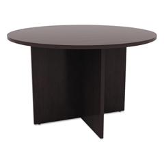 ALEVA7142ES - Alera® Valencia Series Round Conference Tables with Straight Leg Base