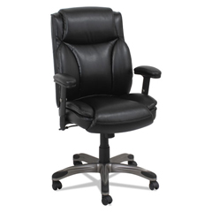 ALEVN5119 - Alera® Veon Series Leather Mid-Back Manager's Chair