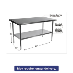 ALEXS6030 - Alera® Stainless Steel Table