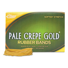 ALL20195 - Alliance® Pale Crepe Gold® Rubber Bands