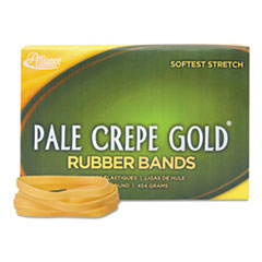 ALL20645 - Alliance® Pale Crepe Gold® Rubber Bands