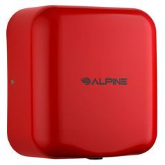 ALP400-10-RED - AlpineHemlock  High Speed Commercial Hand Dryer