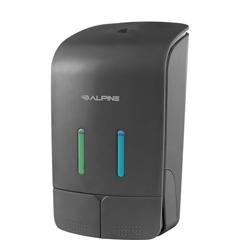 ALP426-GRY - AlpineDouble Soap & Hand Sanitizer Dispenser