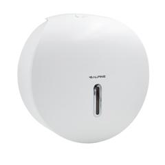 ALP450-WHI - Alpine9 Single-Roll Jumbo Bath Tissue Dispenser, White