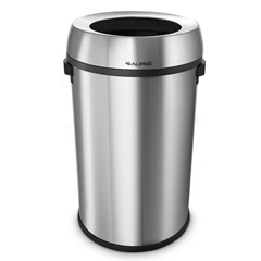 ALP470-65L - AlpineStainless Steel Trash Can