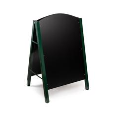 ALP491-01-GRN - Alpine - A-Frame Floor Standing Marker Board Sign