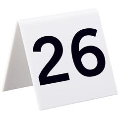 ALP493-26-50 - AlpineSelf Standing Number Cards