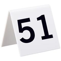 ALP493-51-75 - AlpineSelf Standing Number Cards