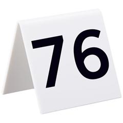 ALP493-76-100 - AlpineSelf Standing Number Cards