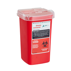 ALP998-01-06 - Alpine - AdirMed Sharps and Needle Disposal Container 1 Quart - 6 Pack