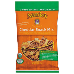ANI00073 - Annies Homegrown Organic Cheddar Snack Mix
