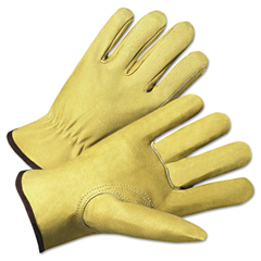 ANR4800XL - Anchor Brand® 4000 Series Pigskin Leather Driver Gloves