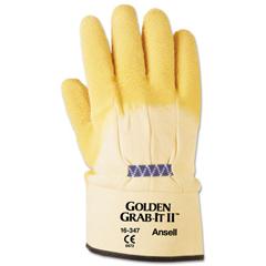ANS1634710 - AnsellPro Golden Grab-It® II Heavy-Duty Multipurpose Gloves