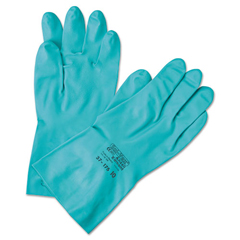 ANS37185-8 - AnsellPro Sol-Vex® Sandpatch-Grip Nitrile Gloves - Medium
