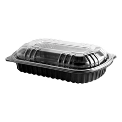 ANZ4401900 - Anchor Packaging MicroRaves® Rib Containers with Vented OPS Anti-Fog Lids