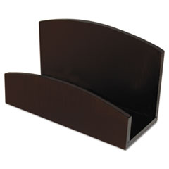 AOPART11001C - Artistic® Eco-Friendly Bamboo Curves Business Card Holder