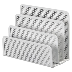 AOPART20003WH - Artistic® Urban Collection Punched Metal Letter Sorter