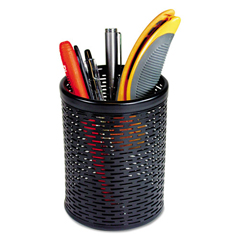 AOPART20005 - Artistic® Urban Collection Punched Metal Pencil Cup