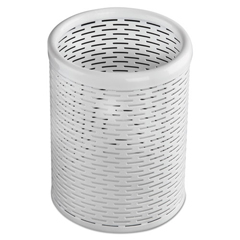 AOPART20005WH - Artistic® Urban Collection Punched Metal Pencil Cup