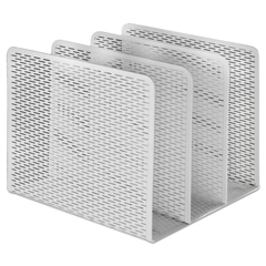 AOPART20009WH - Artistic® Urban Collection Punched Metal File Sorter