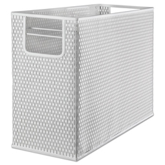 AOPART20010WH - Artistic® Urban Collection Punched Metal Desktop File
