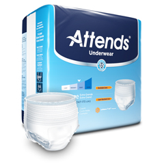 MON25433100 - AttendsModerate Absorbency Protective Underwear